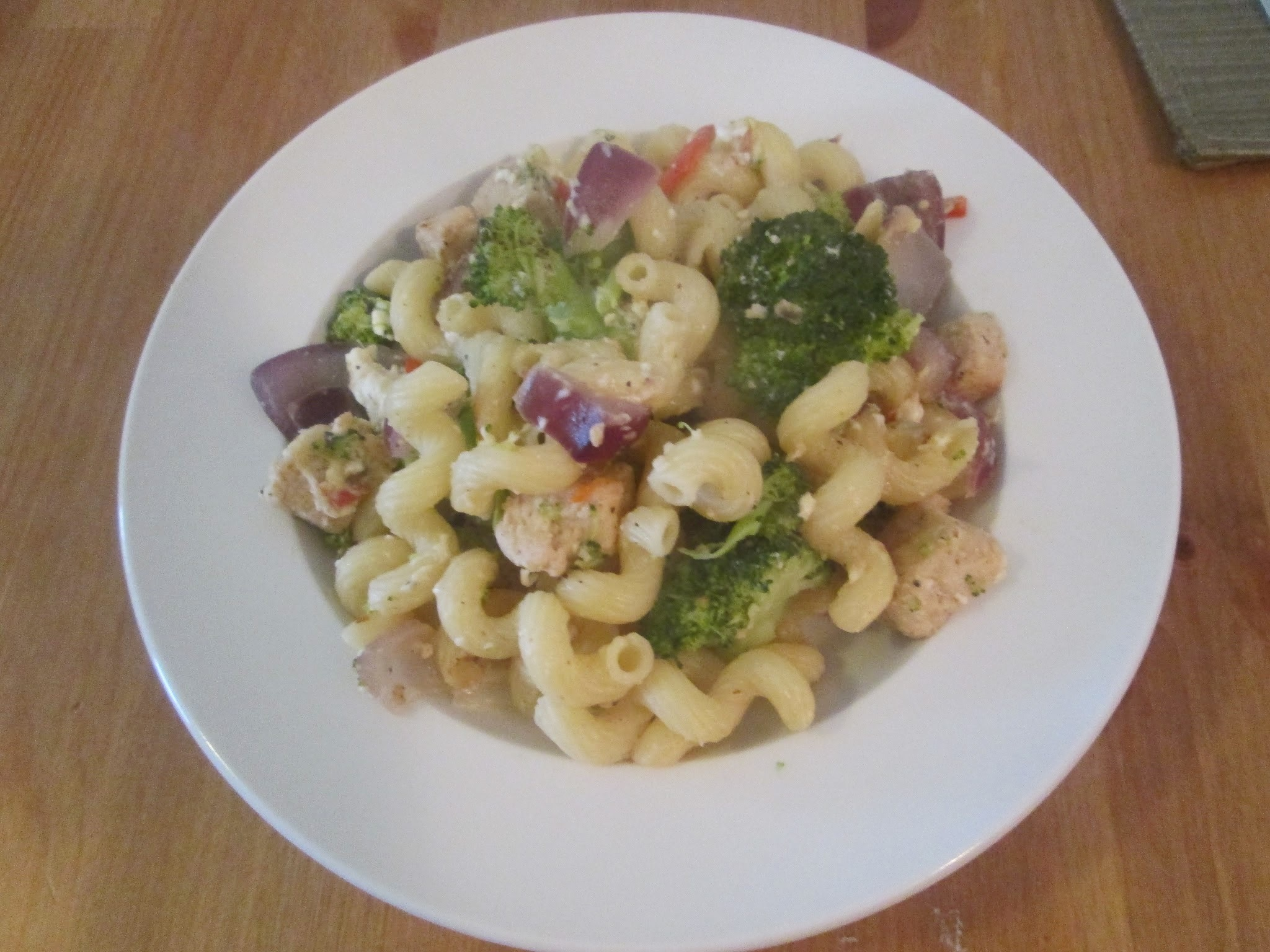 MY BIG FAT GREEK VEGGIE PASTA