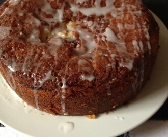 Pear and ginger marmalade cake