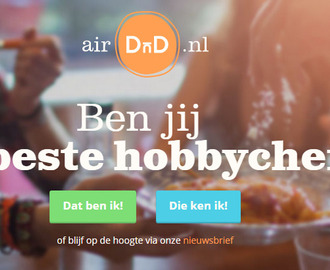 Foodnieuws: Air DnD open je huiskamerrestaurant