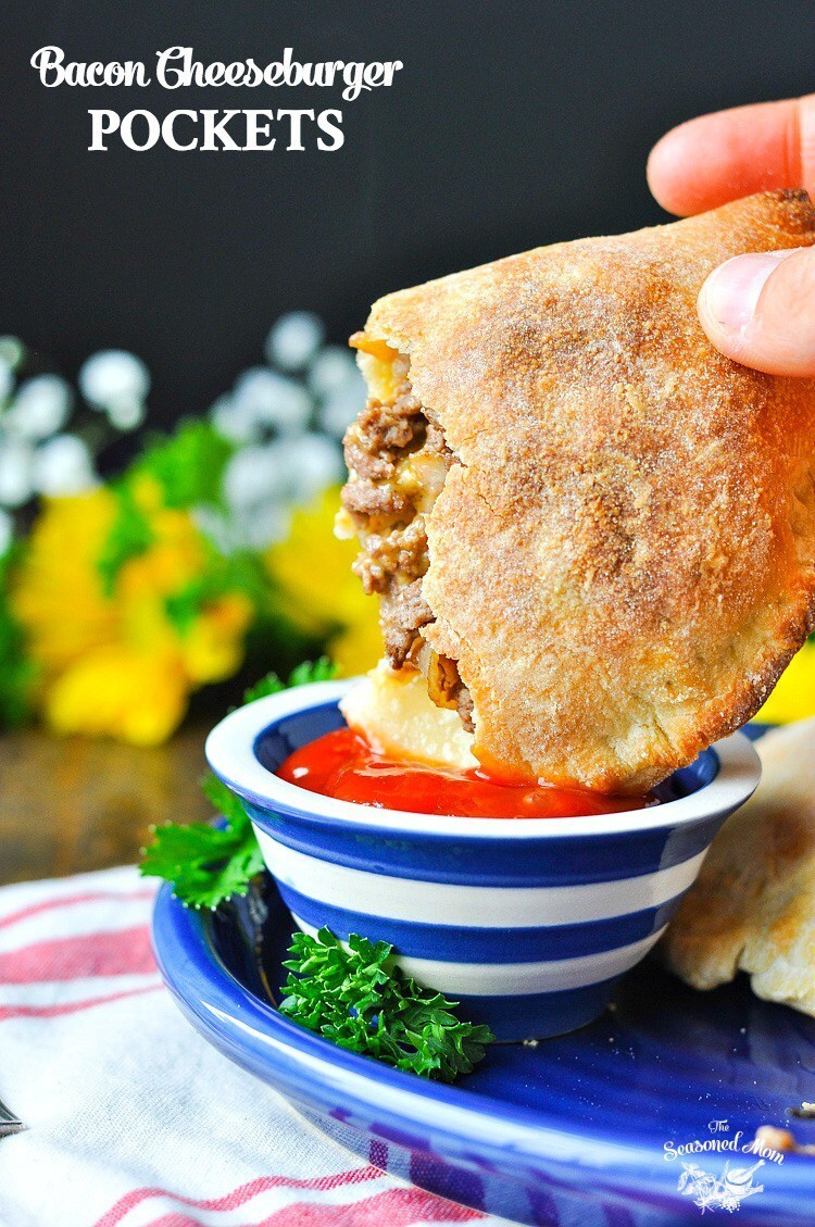 Bacon Cheeseburger Pockets