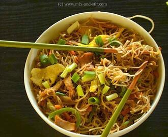 Chow Mein ( Chinese Mixed Noodles )