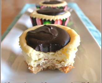 Chocolate Cheesecake Bites #SundaySupper