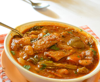 How to make Chettinad Karuvadu Kuzhambu / Spicy Dry Fish Curry / Step by Step: