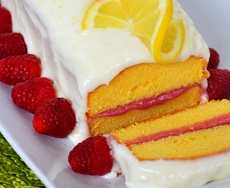 Lemon Raspberry Pound Cake and $50 VISA Gift Card Giveaway