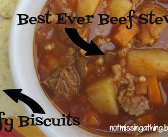 Best Ever Beef Stew {gluten, dairy, egg-free}