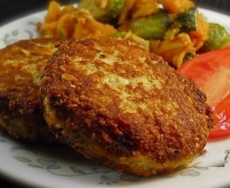 Grilled veal patties recipe