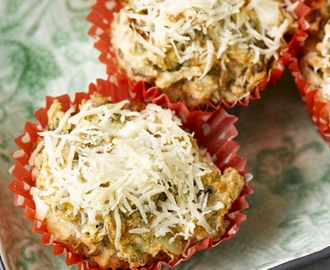 Low-Carb Savoury muffins with Sukrin Bread Mix