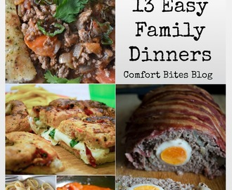 13 Easy Family Dinners