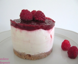 Cheesecake citron framboise (sans cuisson)