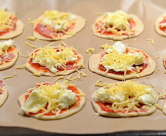 Mini Pizza's maken