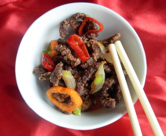 Salted Chilli Crispy Beef to Celebrate Chinese New Year