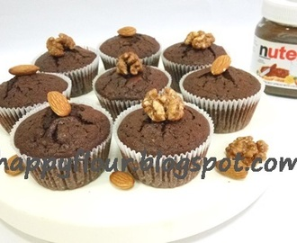 Nutty Nutella Cupcake