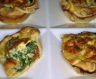 Quiche spinazie met gorgonzola