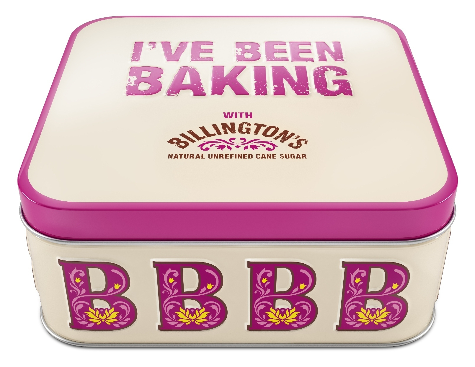 Billington's – free limited edition cake tin