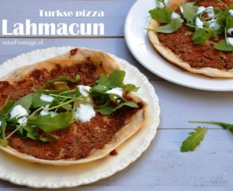 Turkse pizza * Lahmacun