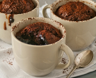 Saucy Chocolate and Coconut Puddings