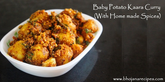 Baby Potato Kaara Curry