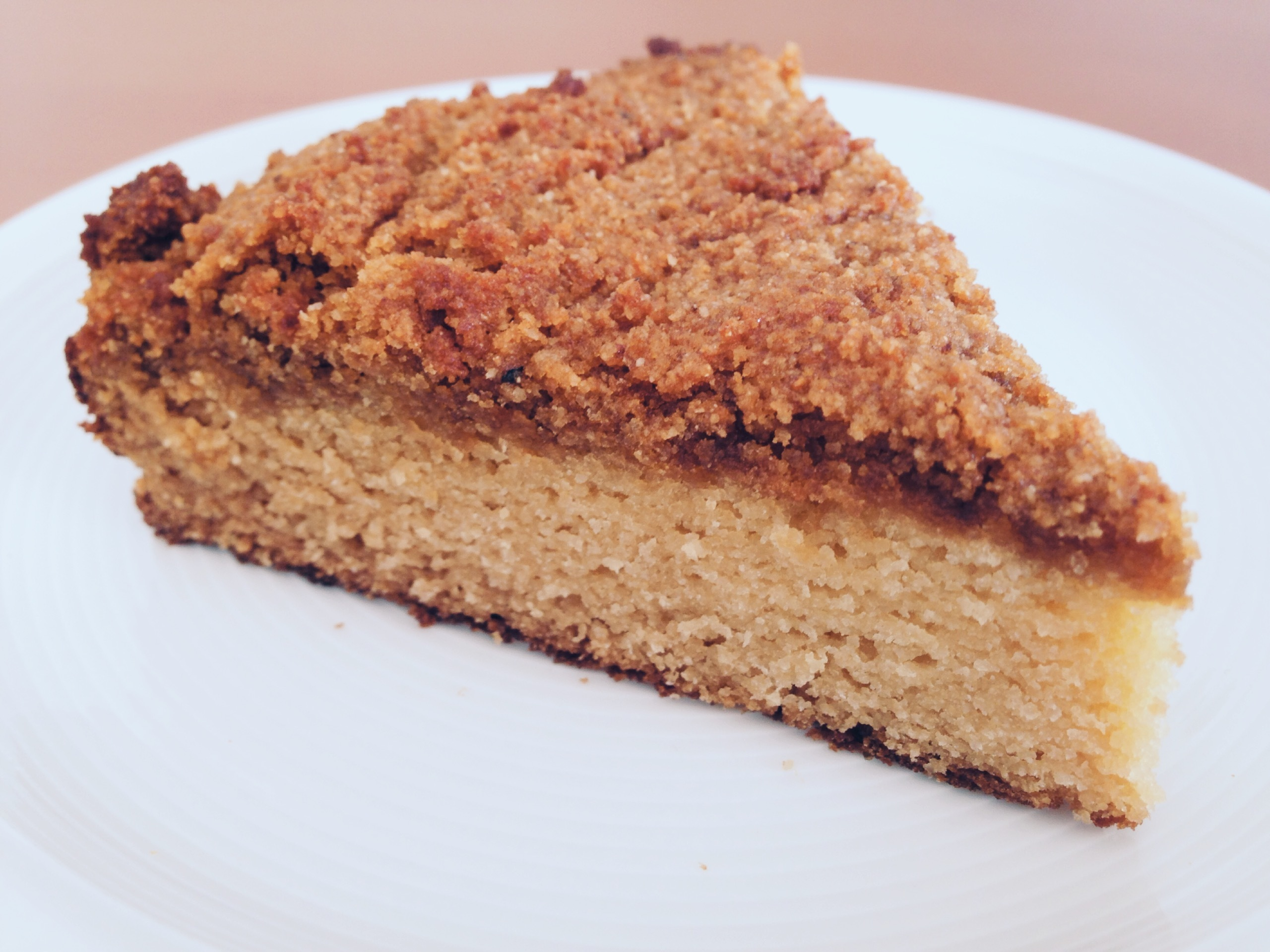 Healthy coffee cake!
