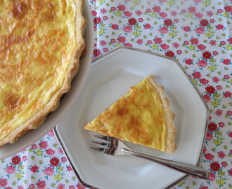 Quiche Semi Integral de Cenoura