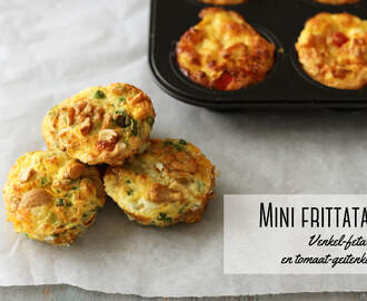 Meatless Mondays: mini frittata's