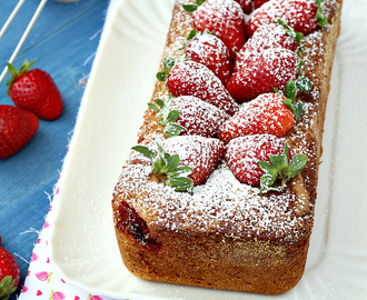 Cake yogurt e fragole