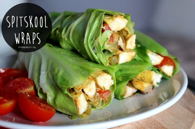 Recept: Spitskool Wraps