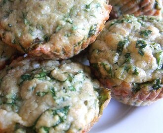 Spinach Cheese Muffins