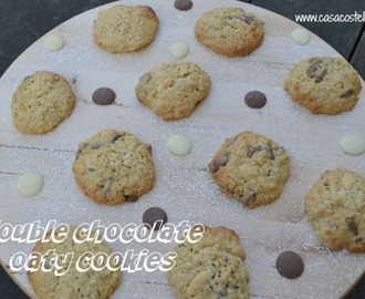 Double Chocolate Oaty Cookies – Bake of the Week