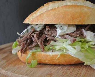 SLOW COOKING: Pulled beef