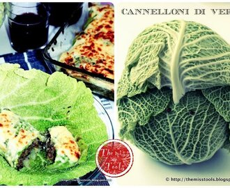 Cannelloni di verza con carne - Savoy cabbage rolls with meat