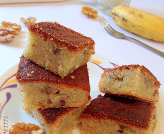 How to make Banana Walnut Cake /  Step by Step: