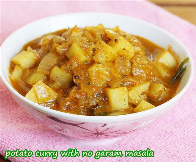 potato curry | aloo sabzi