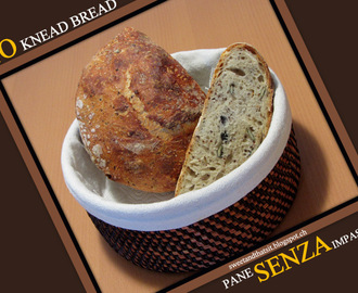 NO Knead Bread with Seeds - Pane SENZA Impastare con Semini