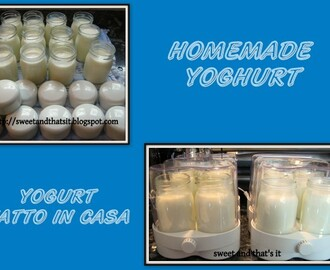 YOGHURT Homemade - YOGURT Fatto in Casa