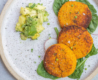 Simple Salmon Cakes (AIP, Paleo & Low FODMAP)