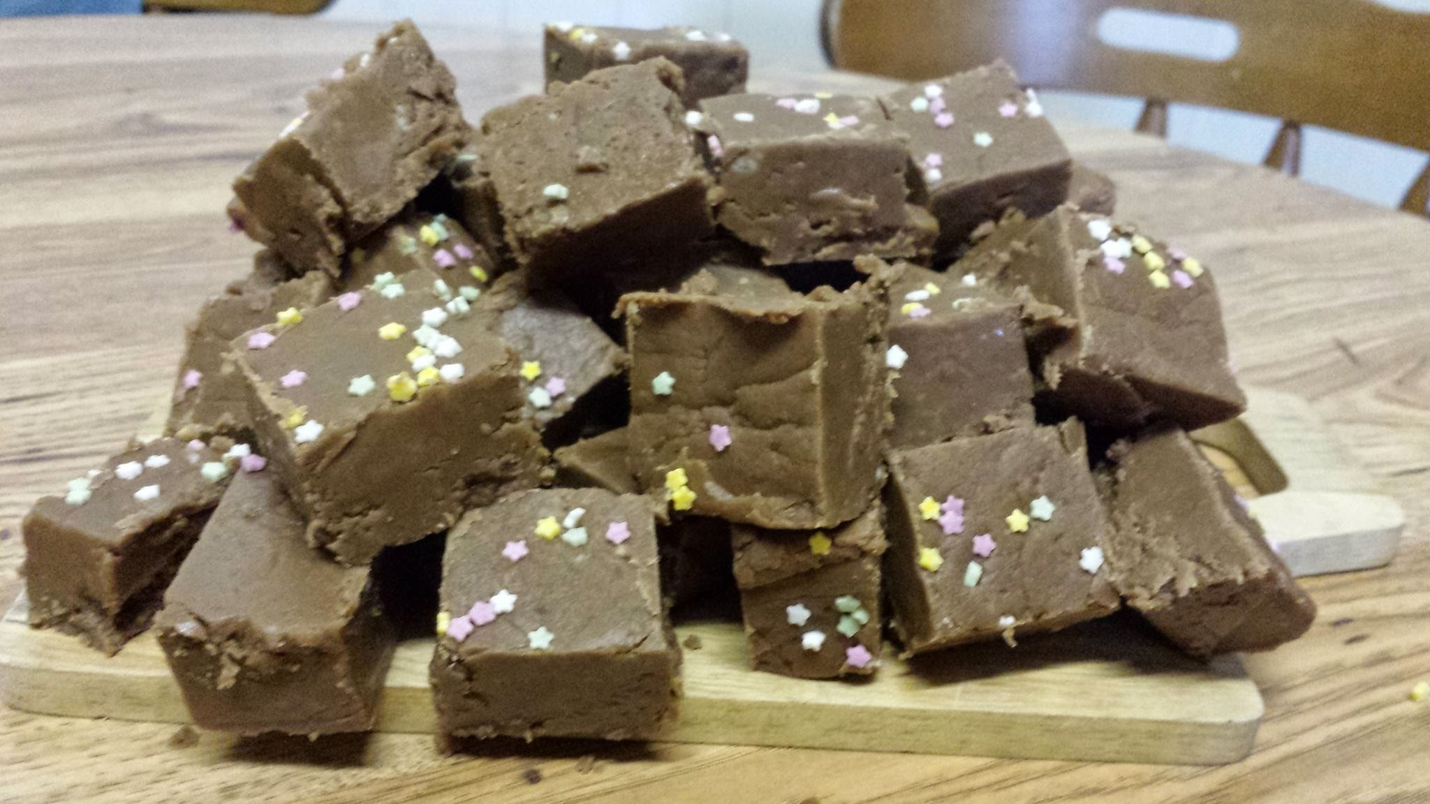 Chocolate Fudge for Fudge Tuesdays