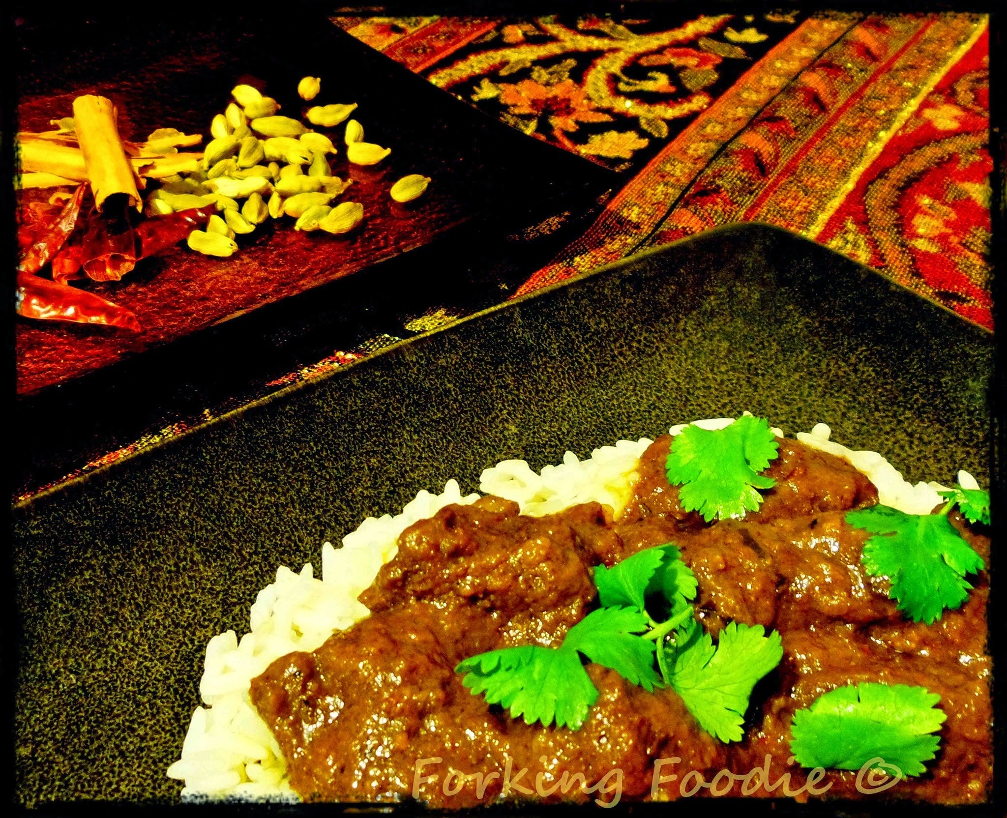 Beef Madras - Slow Cooked (with Thermomix instructions)