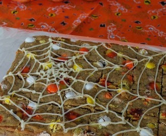 Pumpkin Cookie Bars #CreativeCookieExchange