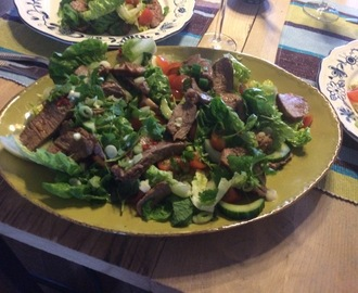 Thaise beef salade