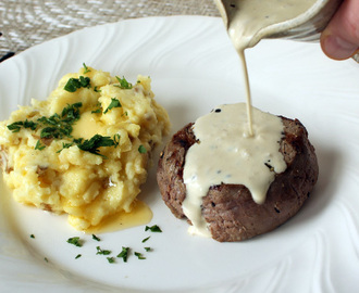 Brandy Peppercorn Sauce