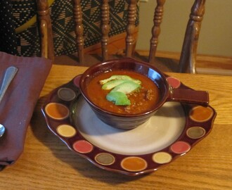 Sirloin Steak Chili