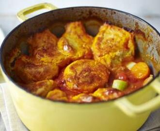Hairy Bikers: Chicken Casserole With Potato Cobbler