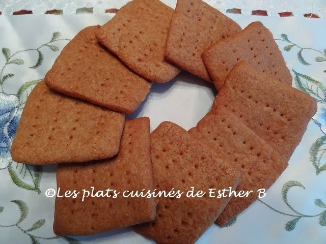 Biscuits graham fait maison