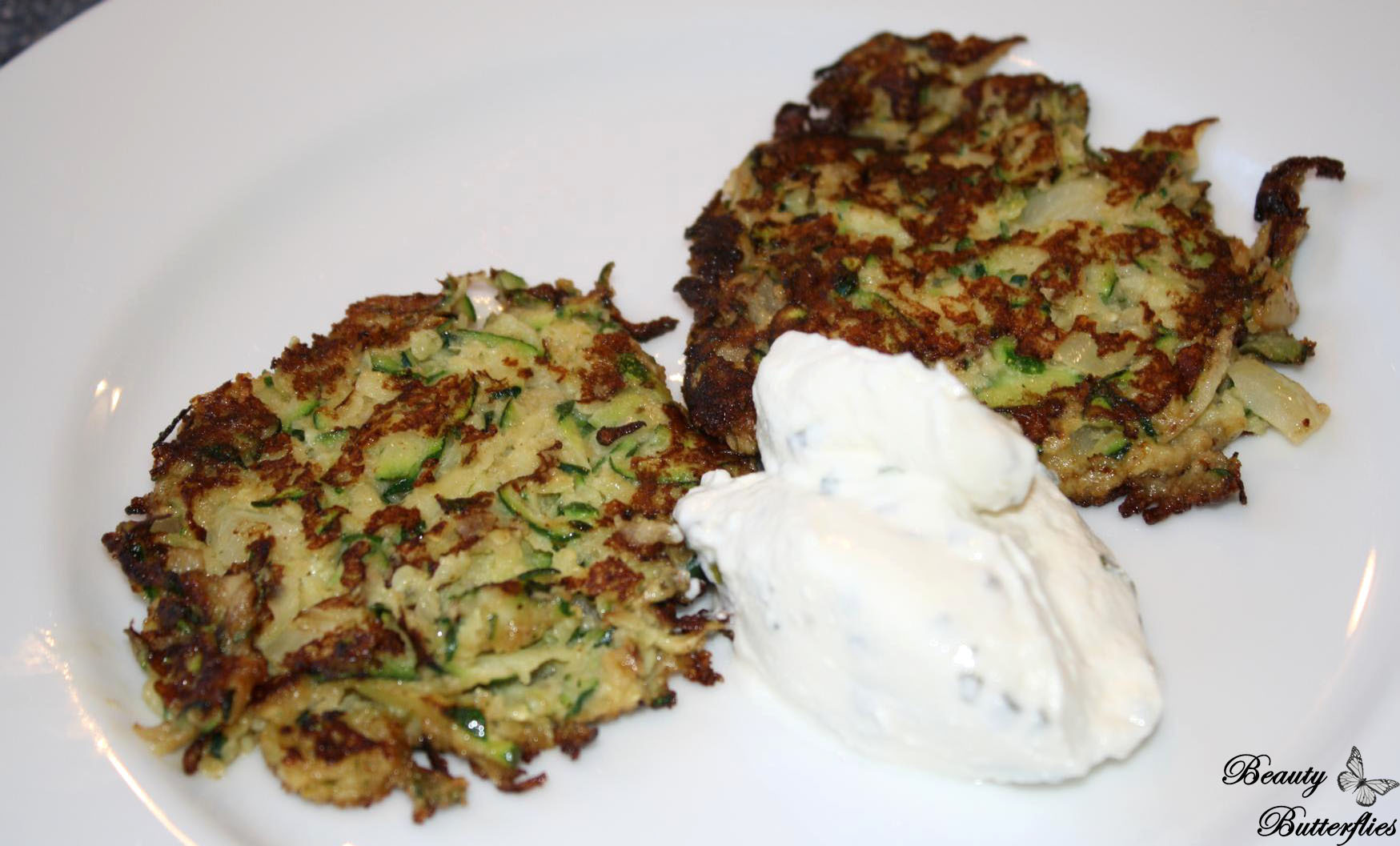 [Rezept] Low-Carb   Zucchini-Puffer