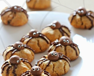 Peanut Butter Spider Cookies (Egg less)