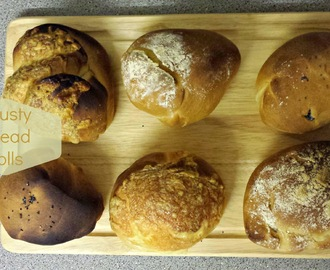 Recipe - Crusty bread rolls