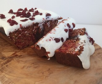 Gezonderdag | Healthy red velvet cake recept