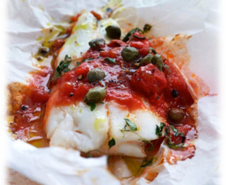 RECIPE: Italian Baked Fish With Tomato Sauce