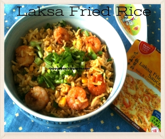 A Singaporean delicacy ~ Laksa Fried Rice