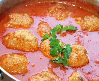 Creole Meatballs and Red Sauce